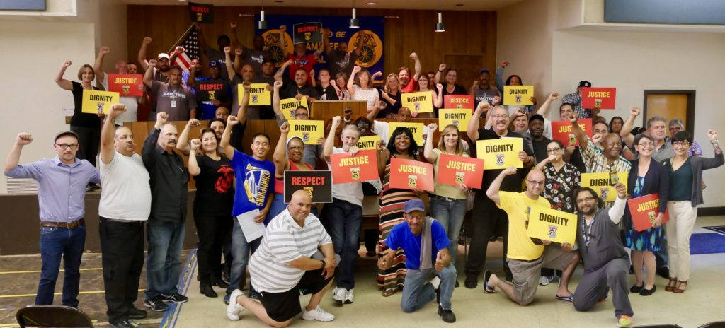 WCCUSD members ratify first Teamster contract by 99